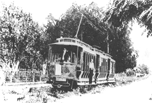 Early 1900's Streetcar